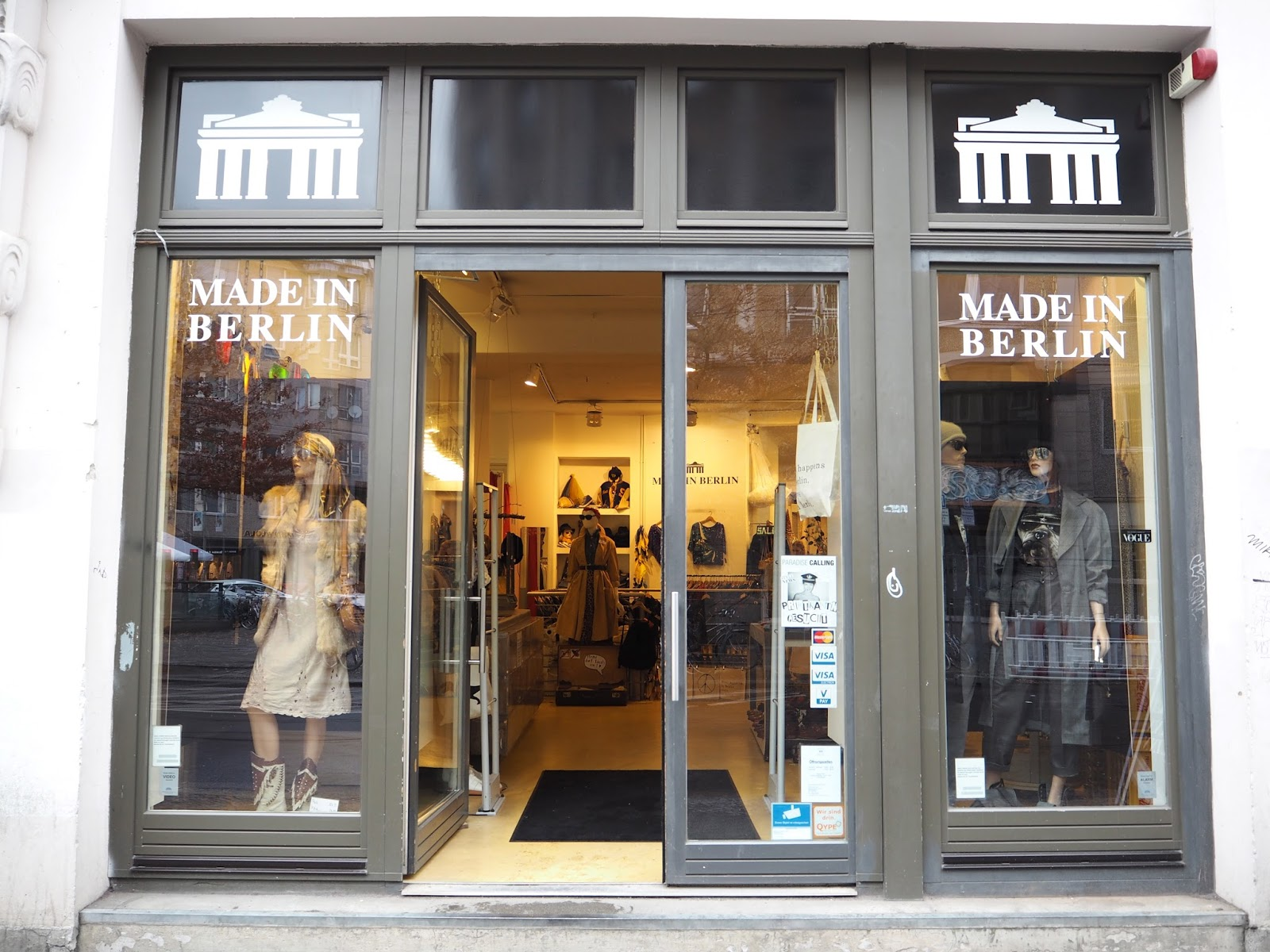 The best vintage shopping in Berlin Made In Berlin vintage shop