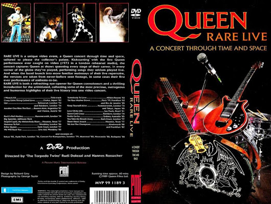 Queen - Rare Live A concert through Time And Space