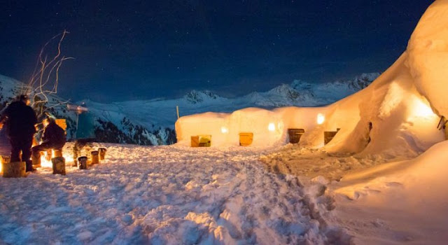 le Village Igloo, Prancis