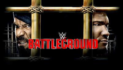 WWE Battleground 2017 - Horarios y Cartelera