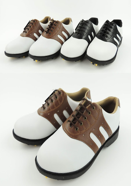 Leather Golf shoes for Men slip resistant sports