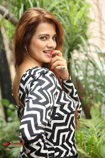 Actress Saloni Latest Pos in Short Dress  0047.JPG