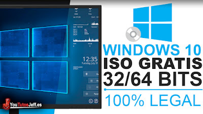 Como Descargar ISO Windows 10 Gratis Español - Descargar Windows 10 32 y 64 BITS