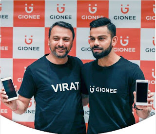 Gionee India signs Virat Kohli as brand ambassador