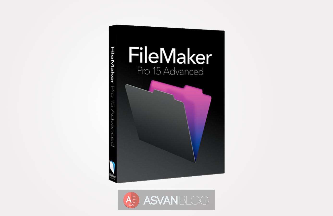 FileMaker Pro 15 Advanced price