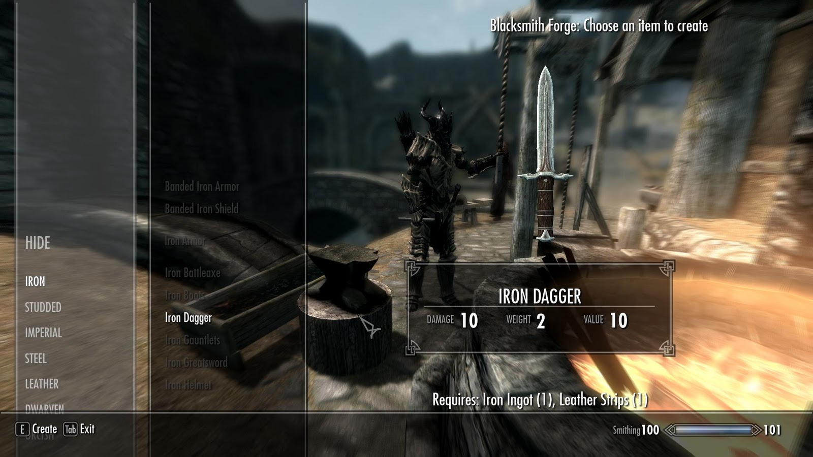 Skyrim Armor And Weapon Crafting Guide - Gamingreality-5049