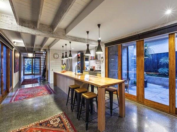 Contemporánea casa familiar en Melbourne Australia 4