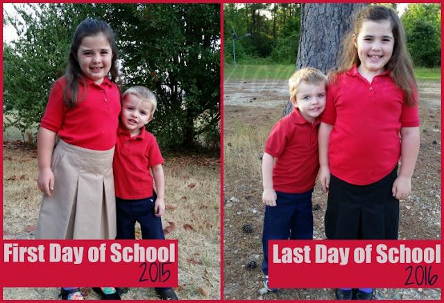 last day of school ting's mom