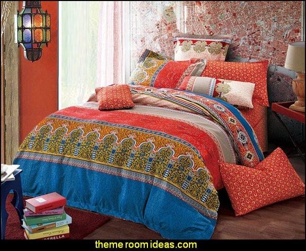 Moroccan 3-piece Reversible Print Comforter Set