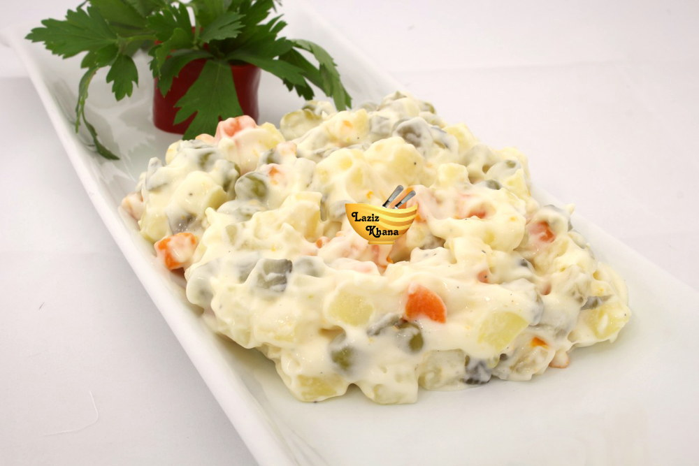 क्रीमी पास्ता सलाद बनाने की विधि – Creamy Pasta Salad Recipe In Hindi