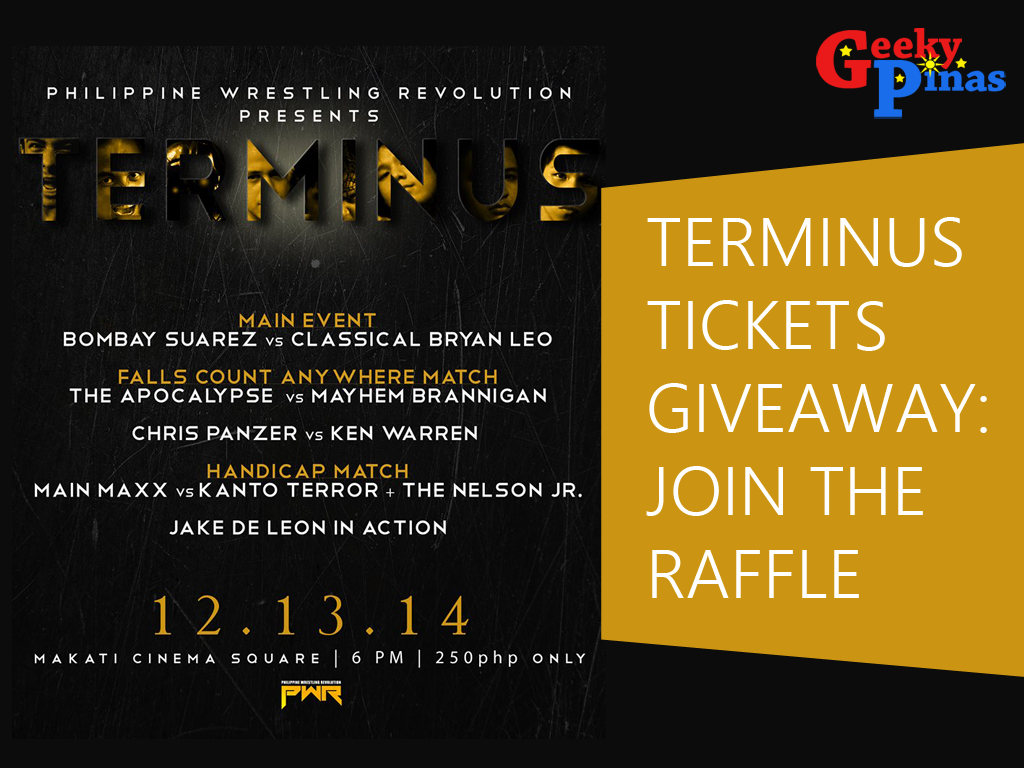 Philippine Wrestling Revolution Presents TERMINUS!