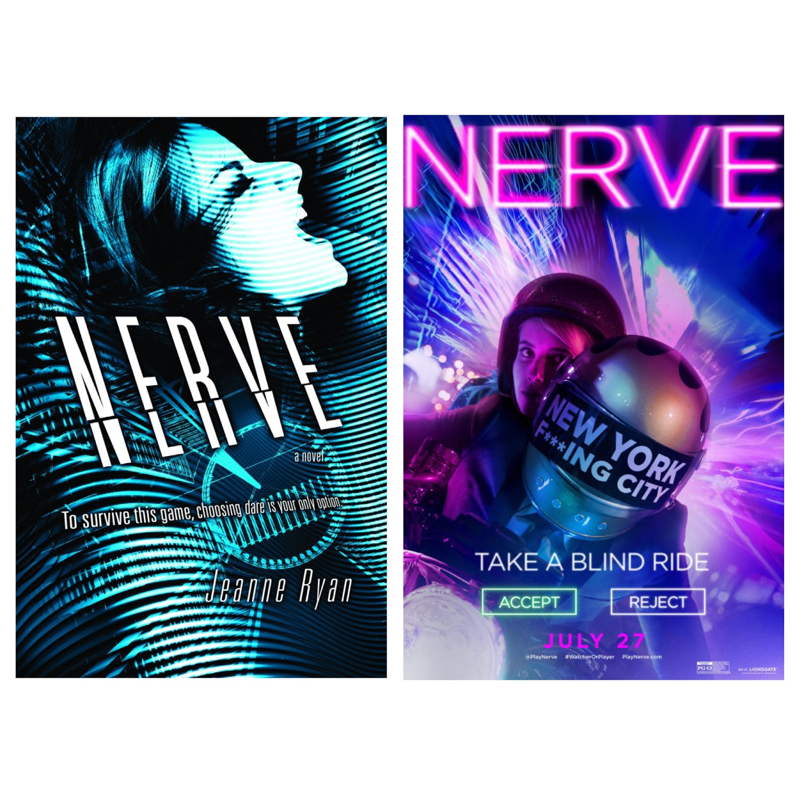 nerve book movie comparison review reads by amanda