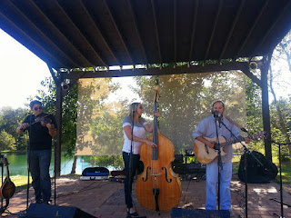 live music at a winery