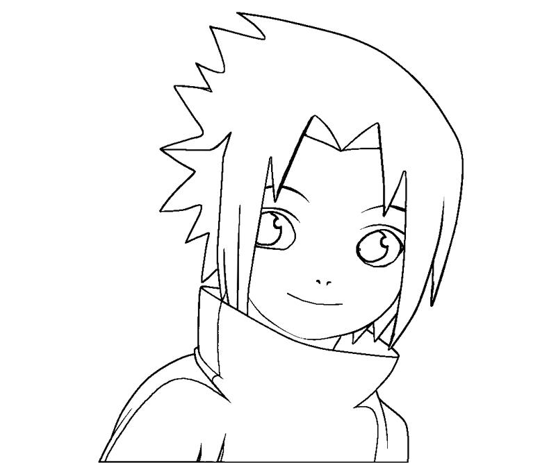 Sasuke Uchiha 9 Coloring Crafty Teenager