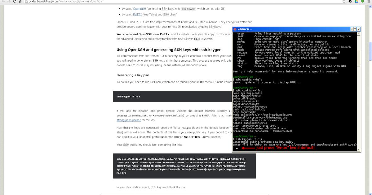 77 HOW TO GENERATE SSH KEY FOR GITHUB WINDOWS, WINDOWS SSH