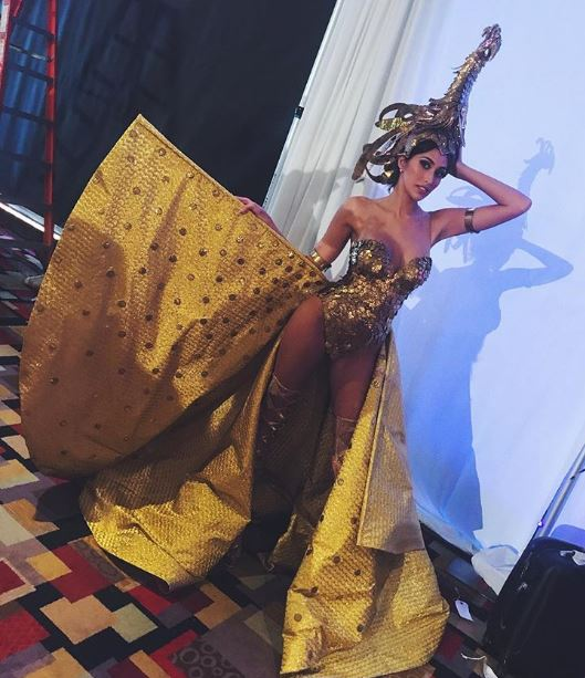 Miss Universe Rachel Peters Fierce sarimanok goddess