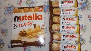 nutellaのお菓子の写真
