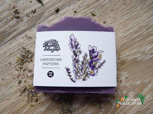 MydłoStacja - Naturalne mydło do kąpieli - LAWENDOWA PRZYSTAŃ