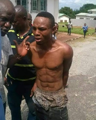 Jubilation As Notorious Armed Robber 'Police' Is Arrested