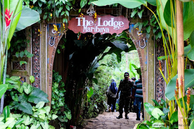 The Lodge Maribaya, Lembang gerbang masuk