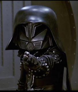 Darth Vader en Spaceballs.