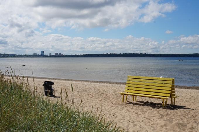Tallinnaan rantalomalle - Stroomin ranta on hyvä lapsiperheelle
