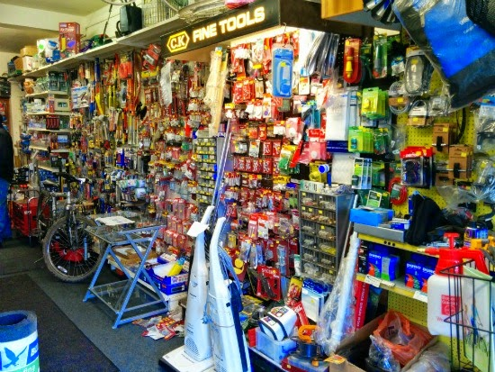Image of household hardware goods by North Mymms News released under Creative Commons