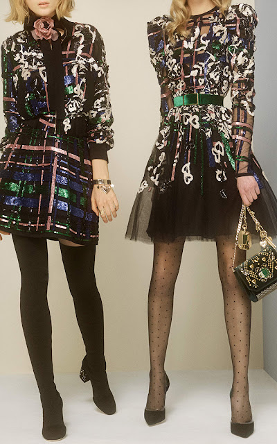 Get The Party Started In This Elie Saab Beaded Mini Skirt www.toyastales.blogspot.com #ElieSaab #ToyasTales #Witchery #MAC #OOTD #fashion #fashionblogger #style #party