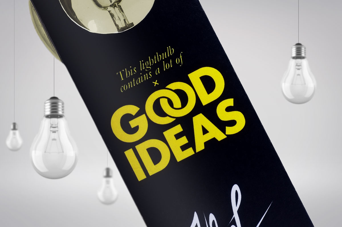 Good Ideas x Self Promotion Student Project on Packaging