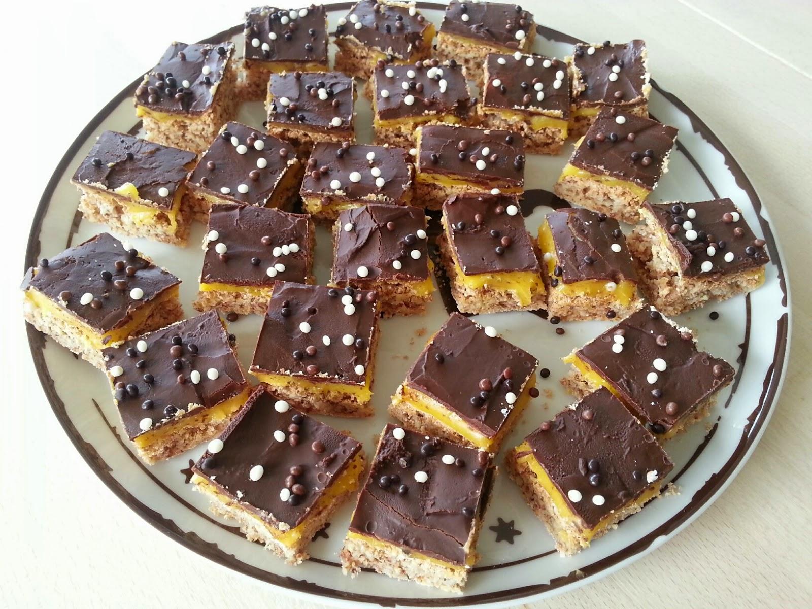 Pavlova med sjokolade