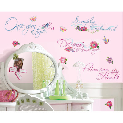 Cute Disney Princess Wall Decal Quotes That Add Sparkle And Shine To Any Little Girls Room Such As Once Upon A Time Simply Enchanted