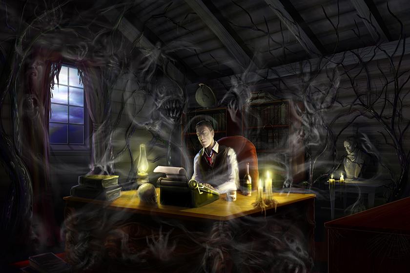 Hp Lovecraft Art Wallpapers: El Espejo Gótico: Fondos De Escritorio De Lovecraft