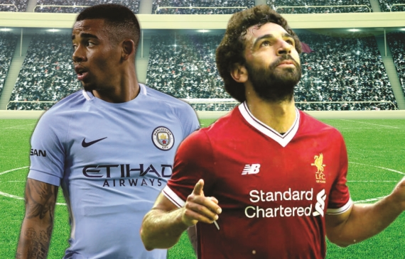 Manchester City welcome Liverpool to the Etihad Stadium in the early kick-off on Saturday