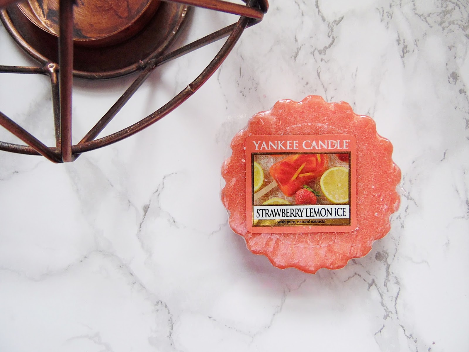 Yankee Candle Strawberry Lemon Ice