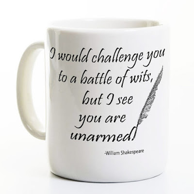 Shakespeare mug on Etsy | gift guide on Tomes and Tequila book blog