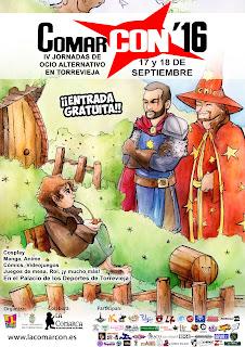 ComarCON´16, IV Jornada de Ocio Alternativo en Torrevieja
