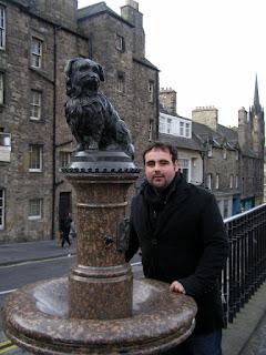 Estatua perro bobby Edimburgo