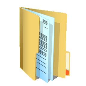 icône d'un dossier