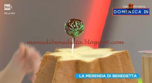 Domenica In - Cake pops di pandoro ricetta Parodi