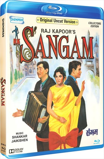 Sangam 1964 Hindi Bluray Movie Download