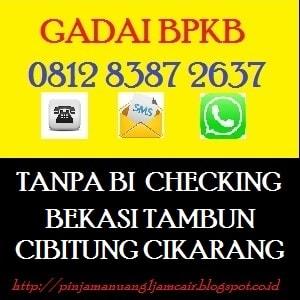 Pinjaman dana tunai cikarang 081283872637