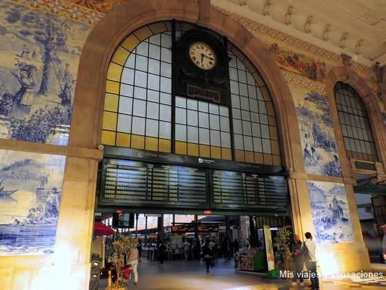 Estación de Sao Bento, Oporto, Portugal