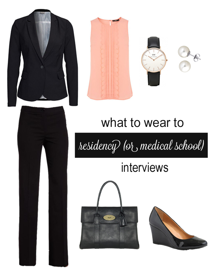 what to wear to residency interview women
