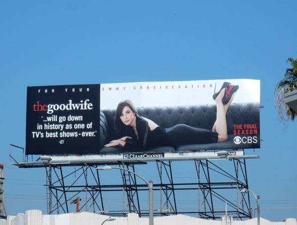Good Wife 2016 Emmy billboard