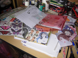 Journales cuadernos recortes de revistas