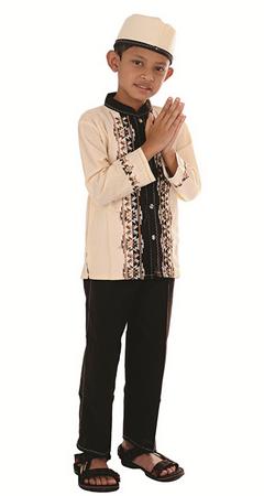 Model Baju Muslim Anak 2015
