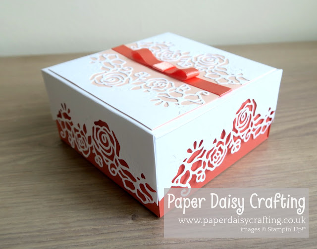 Lovely flowers edgelits dies Stampin Up
