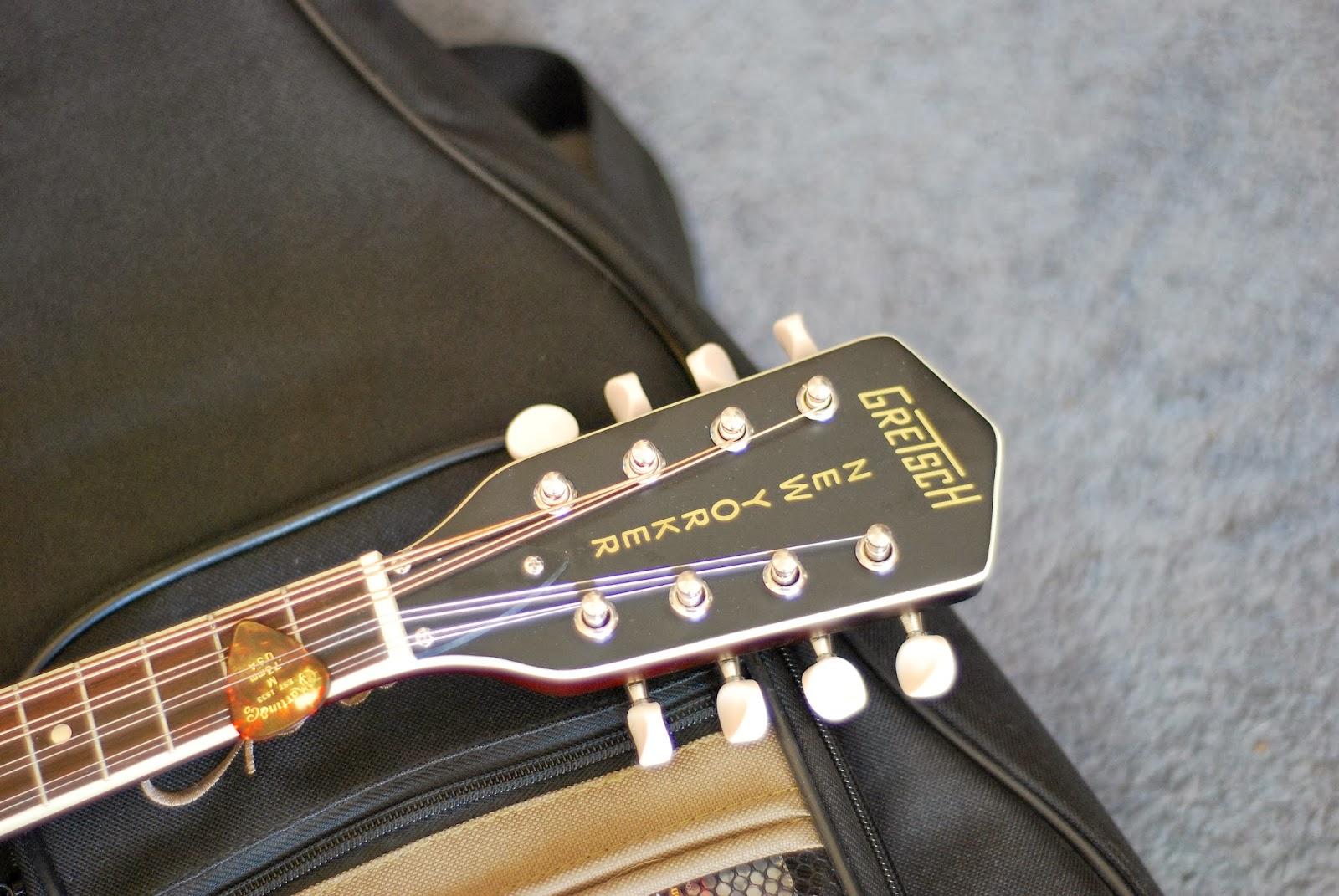 Gretsch G9320 headstock