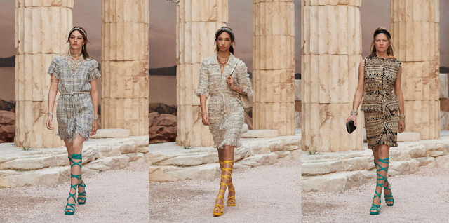 The first looks of Chanel Cruise 2017-2018 collection