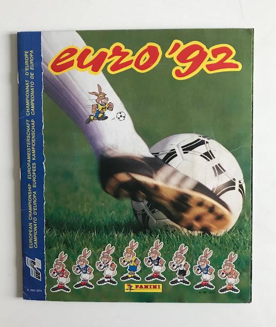 Album Panini Euro 92